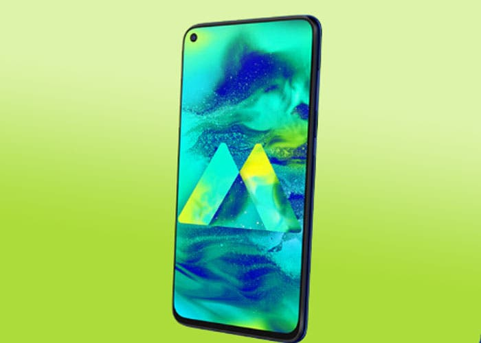 Samsung Galaxy M40: primeras fotografías y especificaciones
