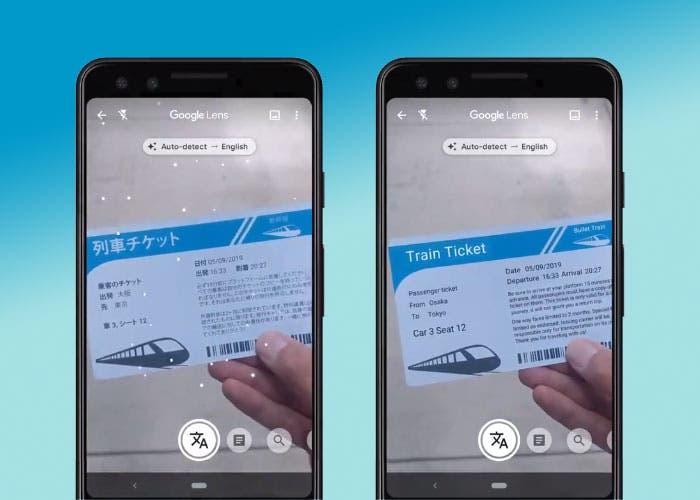 Google Lens ya puede traducir textos de forma instantánea