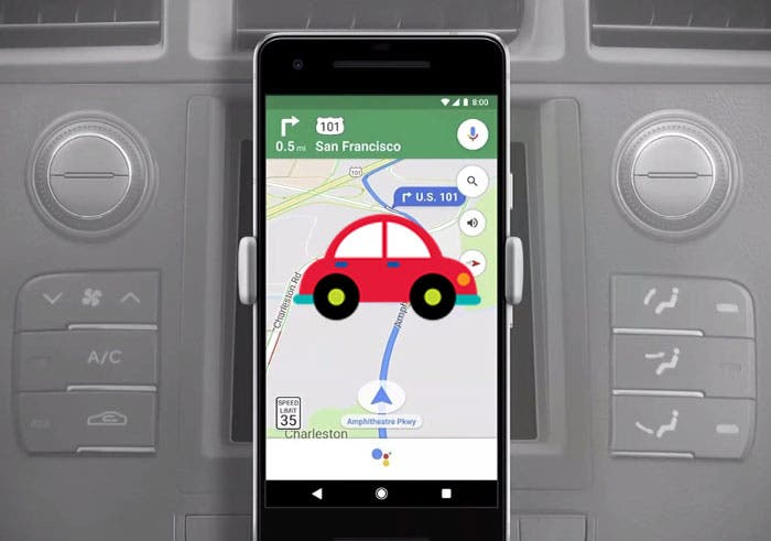 Así puedes encontrar tu coche aparcado con Google Maps