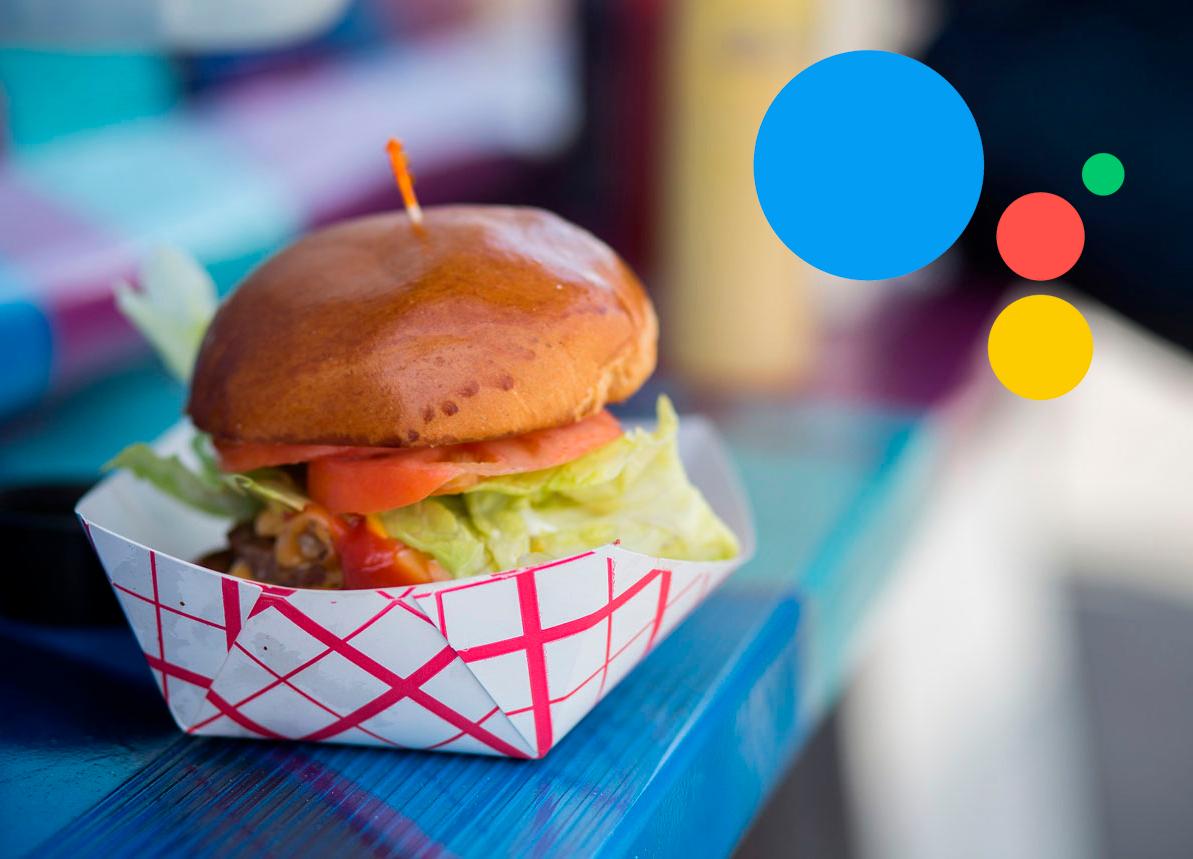 Google Assistant ya permite pedir comida a domicilio sin instalar otras aplicaciones