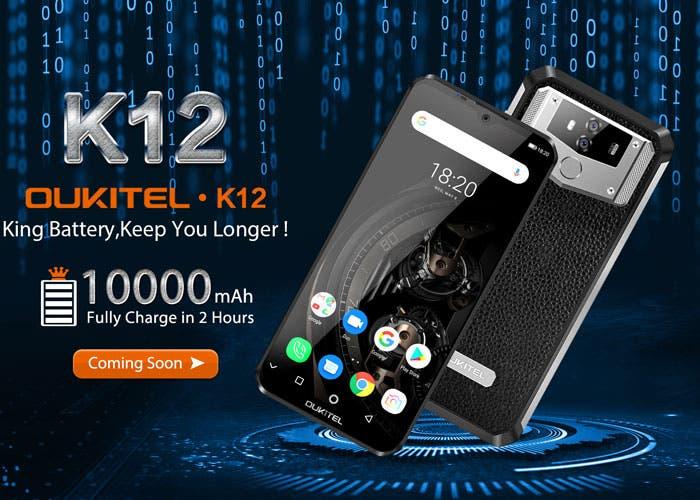 Batería gigantesca para el Oukitel K12: aquí están todas las especificaciones