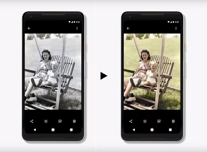 Colorize podría llegar pronto a Google Fotos para colorear tus imágenes más antiguas
