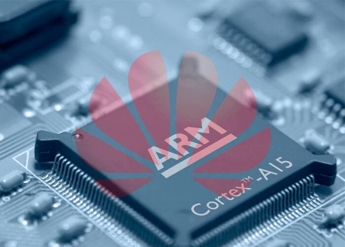 Huawei sufre nuevos problemas, ahora con ARM, un empresa británica