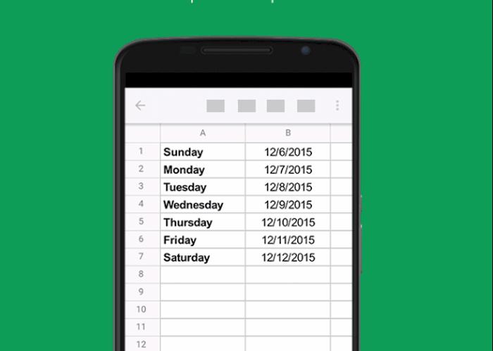 Cómo crear un documento Excel desde el móvil con las Hojas de Cálculo de Google