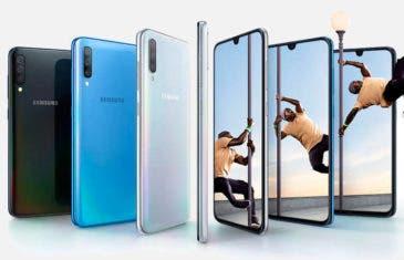Oferta del Samsung Galaxy A70: un descuento tan grande como su pantalla