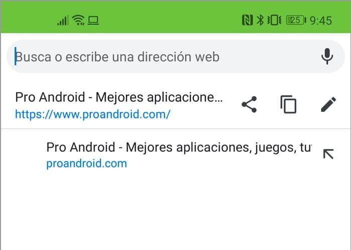 Google Chrome añade nuevos botones para compartir enlaces más rápido