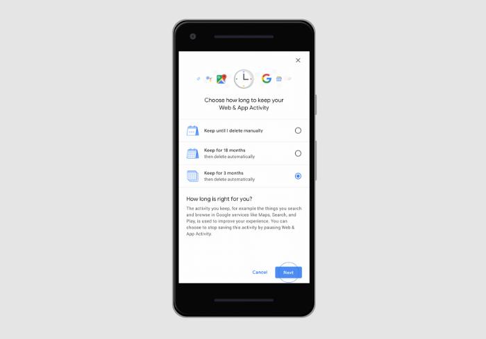 Google borrará automáticamente tu historial de ubicaciones, siempre que se lo pidas