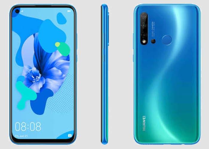 Filtrado el Huawei P20 Lite 2019: cuatro cámaras y agujero en pantalla