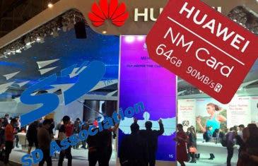 Huawei ya no podrá usar tarjetas microSD en sus teléfonos