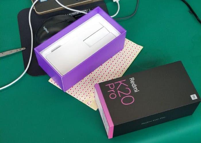 Filtrada una imagen real del Redmi K20 Pro antes de su presentación