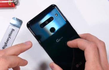 Test de resistencia del LG G8: ¿aguantará el flagship de LG?