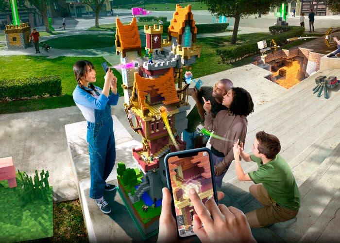 Minecraft Earth: así es el Pokémon Go en el que podrás construir lo que quieras