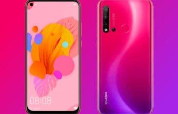 Confirmadas las características del Huawei Nova 5i por AnTuTu