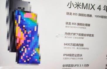 Esta filtración del Xiaomi Mi MIX 4 es demasiado buena para ser cierta