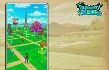 Dragon Quest Walk, otro juego AR que quiere plantarle cara a Pokémon Go