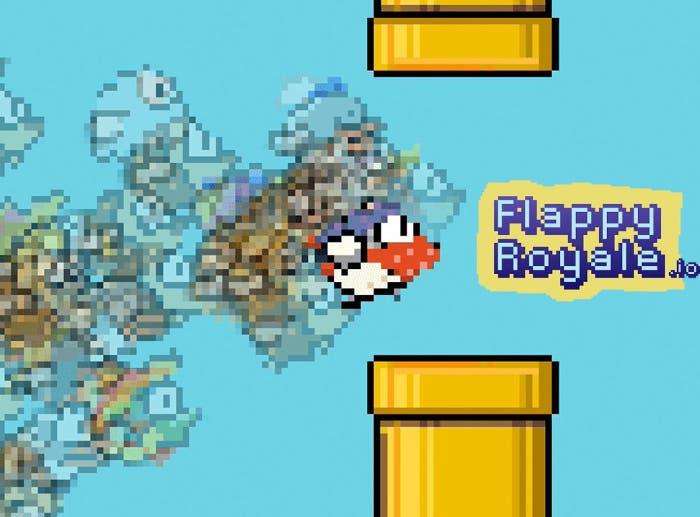 Flappy Royale, el nuevo juego basado en Flappy Birds con partidas de 100 jugadores