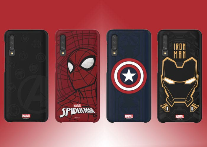 Los Samsung Galaxy A ya tienen sus propias fundas de Marvel