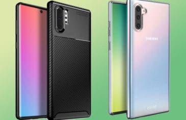 Samsung Galaxy Note 10: los renders de las fundas confirman el diseño