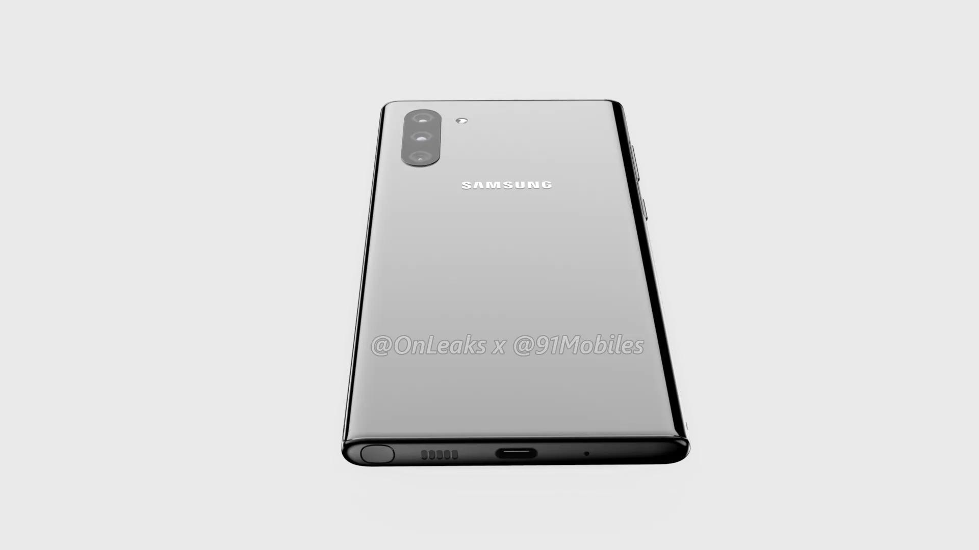 El cargador más rápido del Samsung Galaxy Note 10 no estaría incluido en la caja