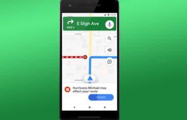 Google Maps alertará sobre los desastres naturales en directo
