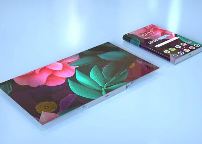 Huawei ya estaría trabajando en un nuevo móvil plegable
