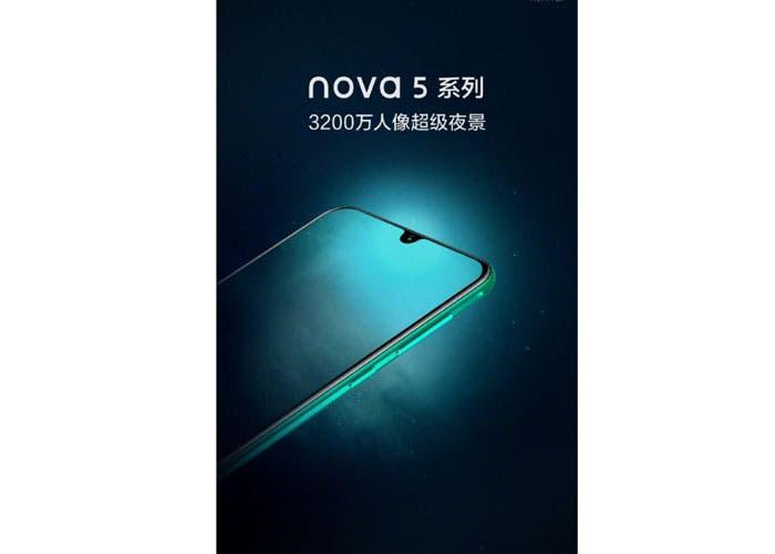 Huawei Nova 5: características y precio del smartphone de la compañía china