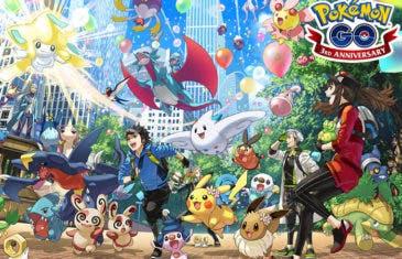Pokémon GO celebra su tercer aniversario con novedades para todos