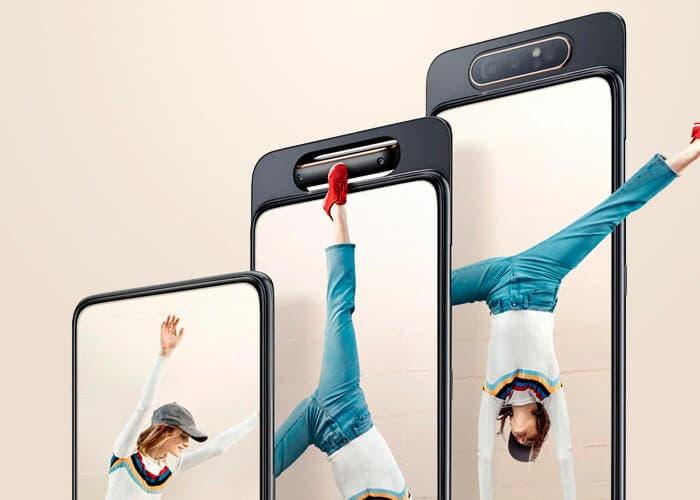 El Samsung Galaxy A90 también tendrá una cámara emergente giratoria