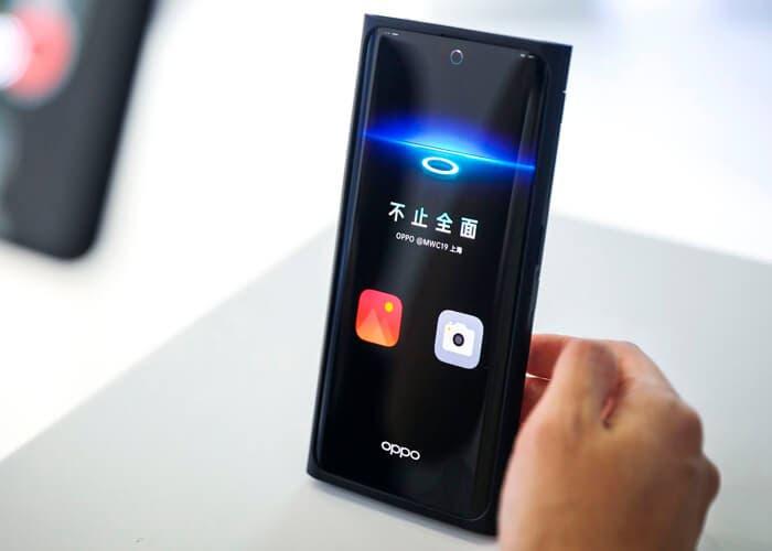El Oppo con cámara bajo la pantalla llegará en 2020