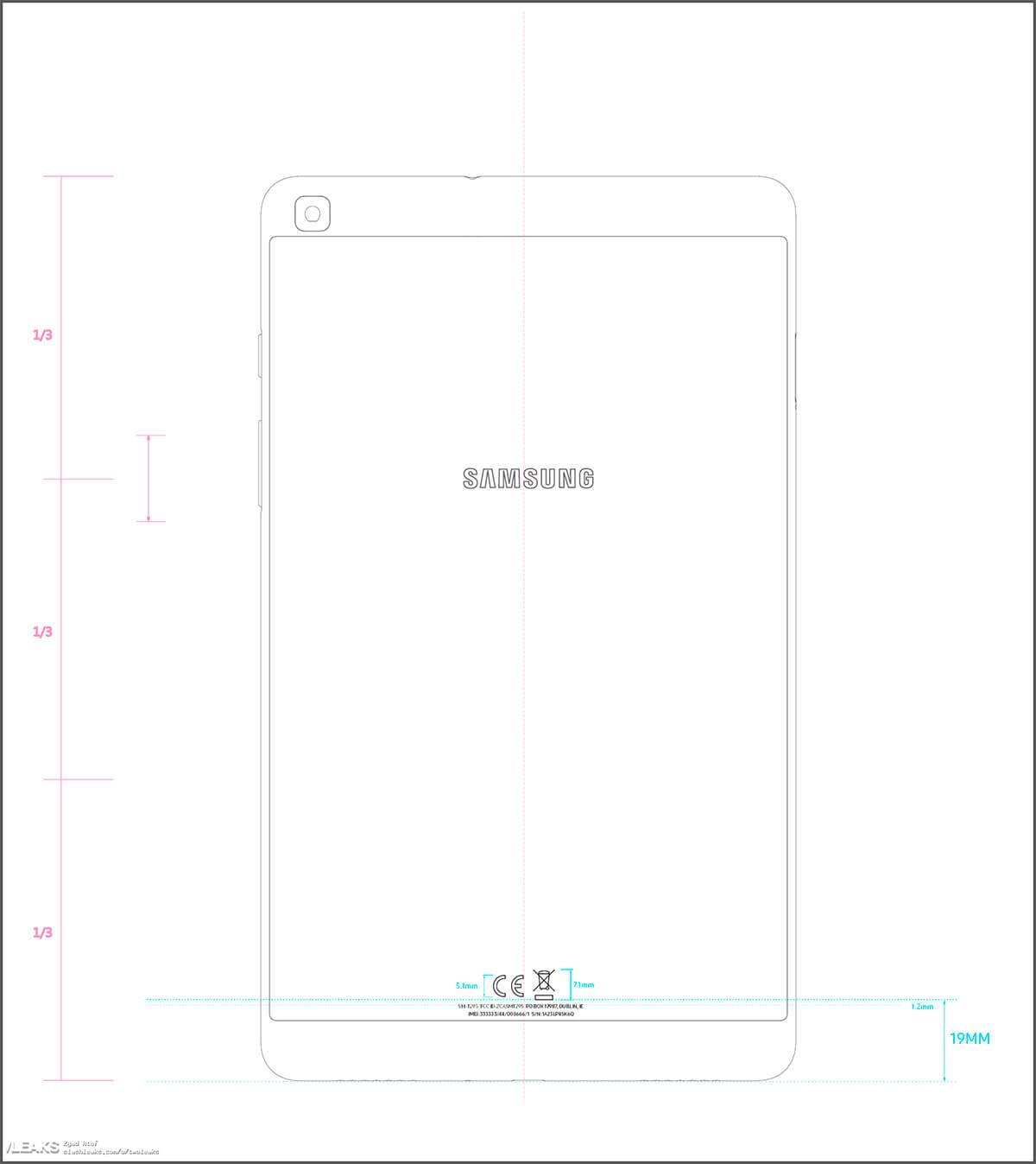 Samsung Galaxy Tab A 7.0 2019