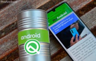EMUI 10: Android Q para móviles Huawei se presentará en agosto