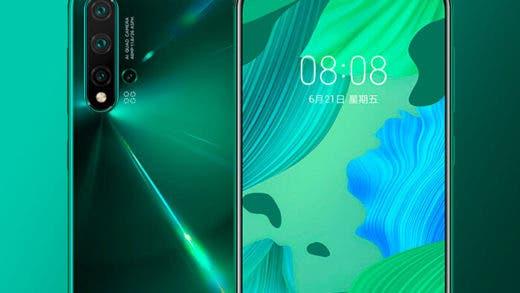 Los Huawei Nova 5 son oficiales: nuevo chip Kirin 810 y 4 cámaras