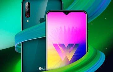 LG W30 Pro, W30 y W10, tres nuevos teléfonos para reflotar las ventas de la marca