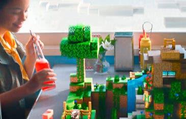 He aquí el primer gameplay de Minecraft Earth, el Pokémon Go creativo