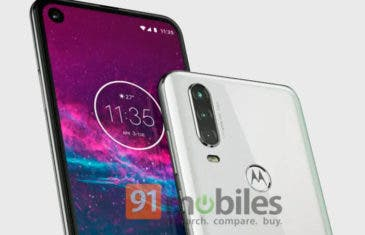 Filtrado el diseño del Motorola One Action en imágenes de prensa. Así será