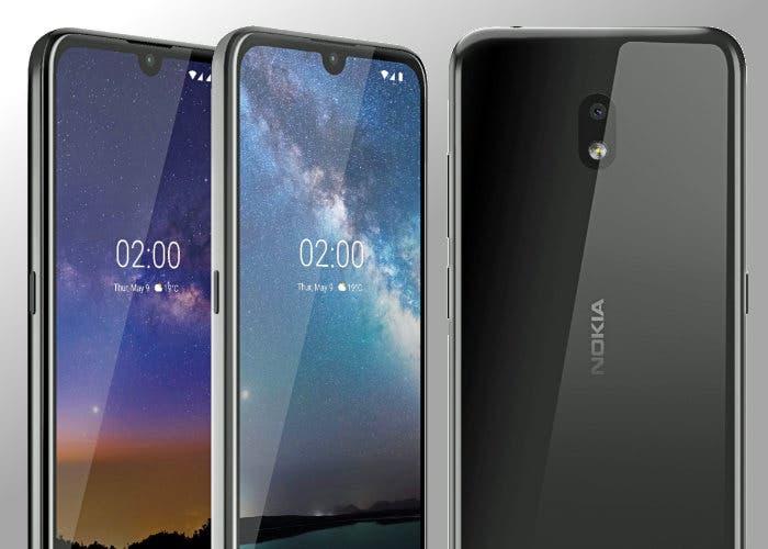El Nokia 2.2 es oficial: un gama baja con un diseño muy atractivo