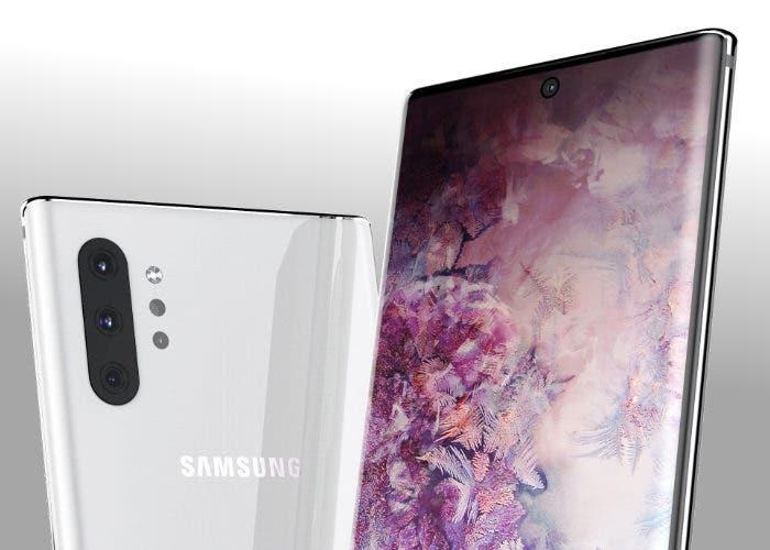 Así será el Samsung Galaxy Note 10 Pro: primeros renders reales