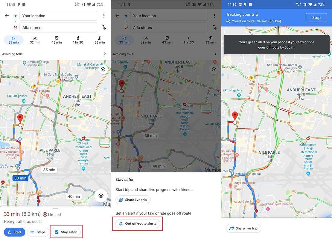 Google Maps va contra los taxistas tramposos con esta nueva función