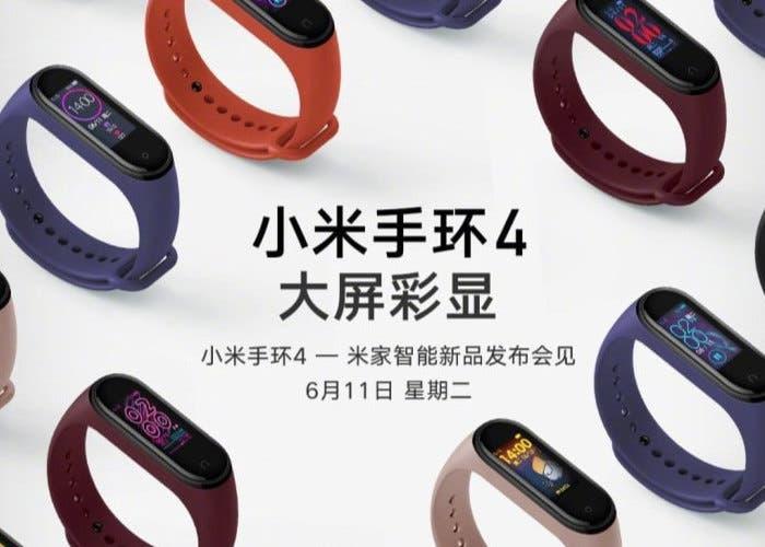 La Xiaomi Mi Band 4 llegará muy pronto a Europa