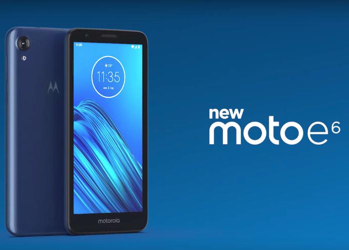 El Motorola Moto E6 es oficial: así es el móvil más barato de Motorola
