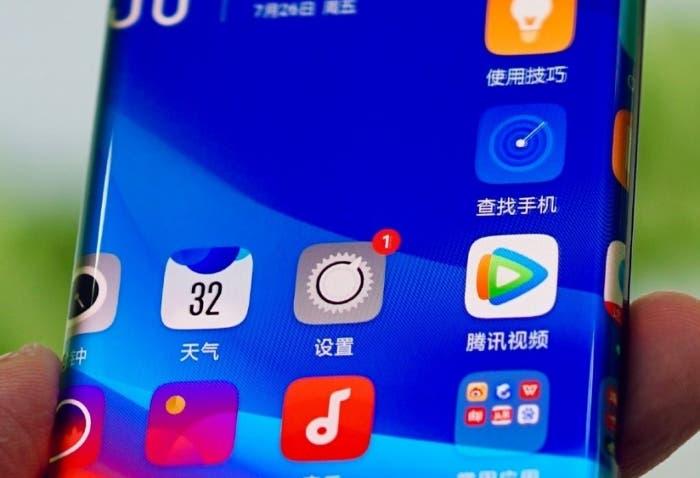 Oppo presenta una pantalla con bordes extremadamente curvos