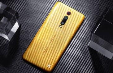 El Redmi K20 Pro más lujoso está bañado en oro y cuesta 6.000 euros
