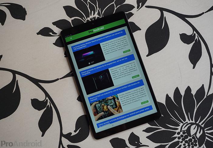 Análisis de la Samsung Galaxy Tab A 2019: una tablet pensada para el multimedia