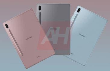 Samsung Galaxy Tab S6: aparecen las primeras fotografías oficiales