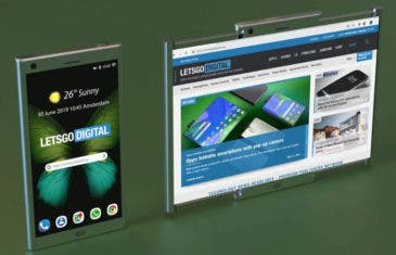 Samsung patenta un nuevo teléfono flexible con mecanismo enrollable