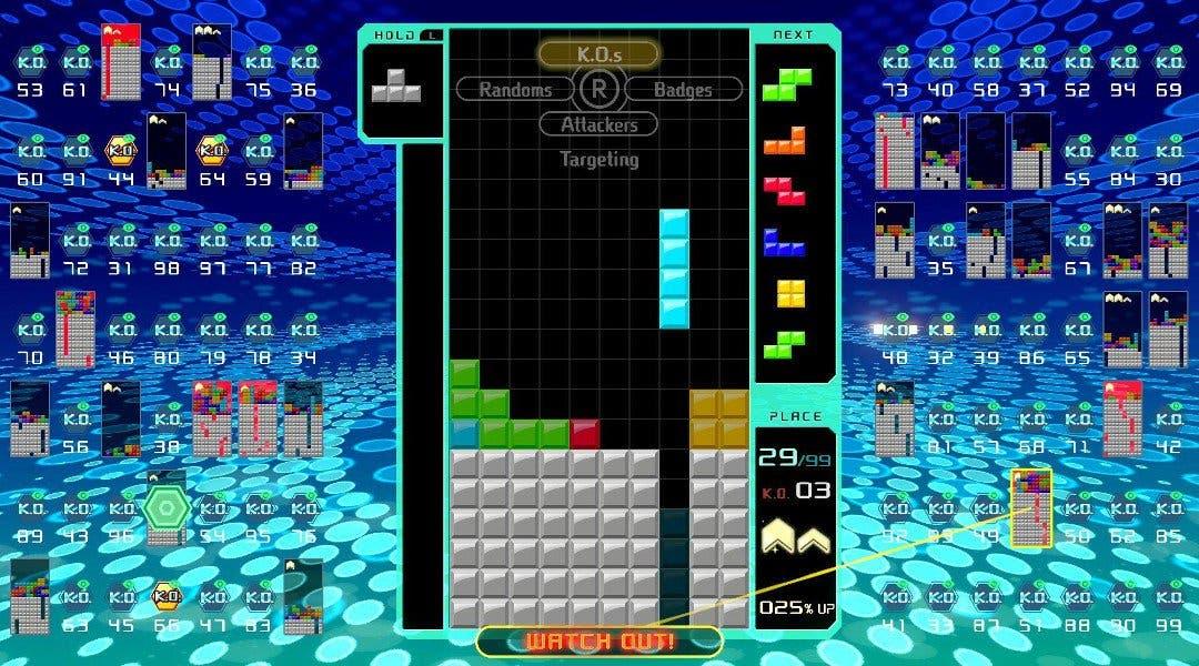 Tetris 99 se lanza en formato físico el 20 de septiembre