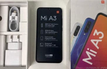 Xiaomi Mi A3: las primeras imágenes reales confirman diseño y especificaciones