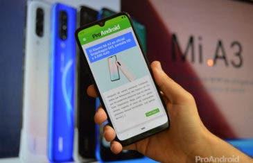 Primeras impresiones del Xiaomi Mi A3: la renovación del Android One de Xiaomi