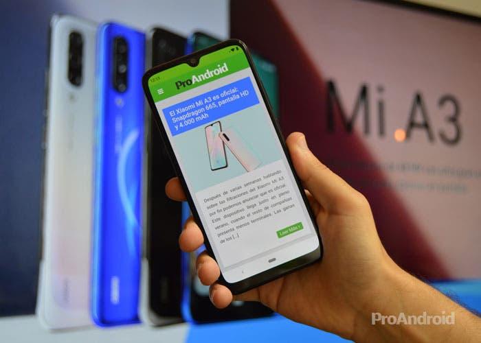 ¡El Xiaomi Mi A3 de 128 GB está a un precio de escándalo!
