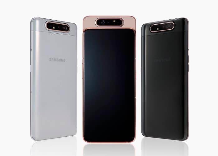 Así funciona el mecanismo de cámara del Samsung Galaxy A80